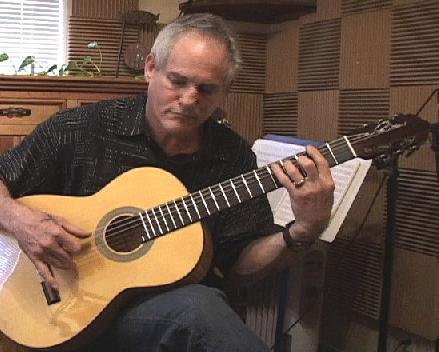 Guitarist Daniel Maya