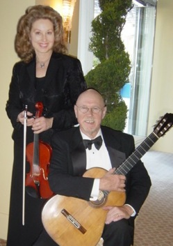 Bay Music and Entertainment performer Amalfi Duo