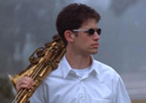 Saxophonist Anton Schwartz