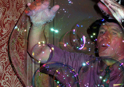 Mr. Bubbles, The Magic Bubble Man
