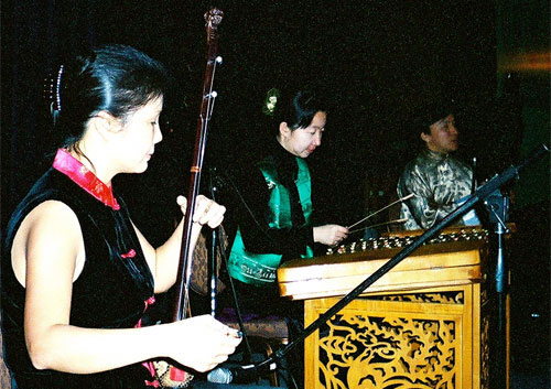 Traditional Chinese Instrumental Trio