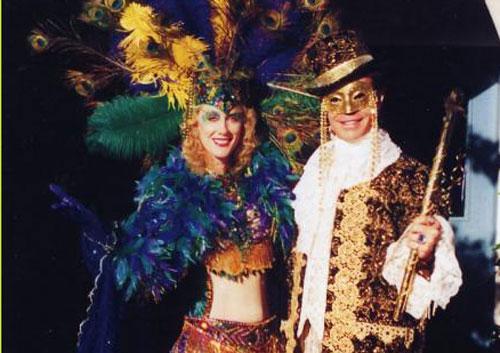 Mardi Gras King & Queen