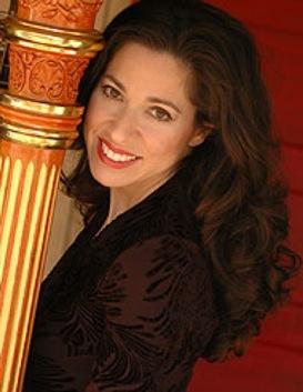 Harpist Anna Maria Mendieta