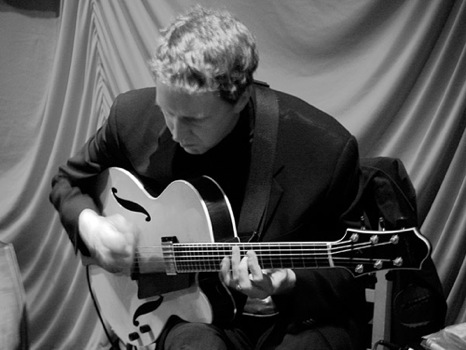 Guitarist Ned Boynton