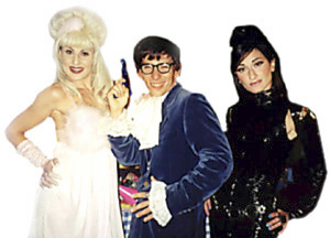 Austin Powers Look-A-Like & His Beautiful Fembots