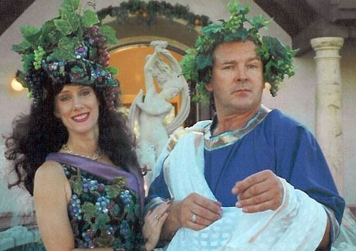 Bacchus & The Wine Goddess