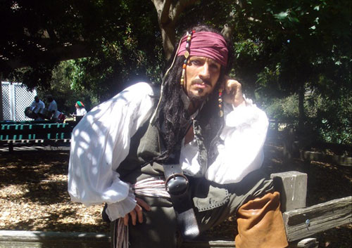 Captain Jack Sparrow Look-A-Like