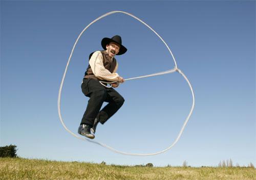 Lariat Larry Trick Rope Artist/Storyteller