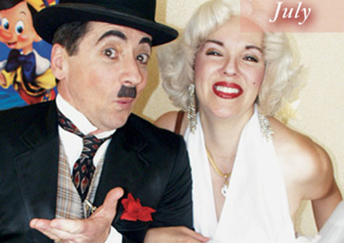 Marilyn Monroe Look-A-Like & Charlie Chaplin Look-A-Like