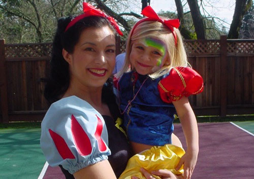 Snow White Look-A-Like Character/Facepainter