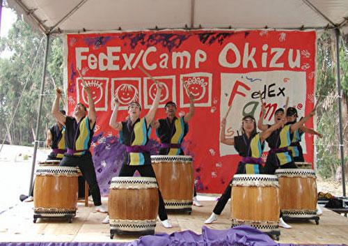 Japanese Taiko Drummers
